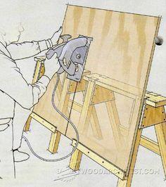 Sawhorse Upgrades - Workshop Solutions Plans, Tips and Tricks | WoodArchivist.com