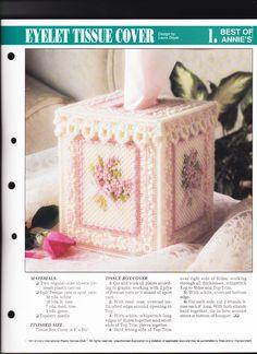 Eyelet Tissue Box Cover 1/2