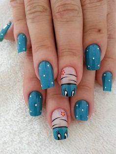 nails by chantelle Crazy Nail Art, Crazy Nails, New Nail Art, Love Nails, Fabulous Nails, Gorgeous Nails, Pretty Nails, Animal Nail Art, Cute Nail Designs