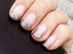How to take off glitter nail polish!
