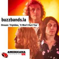 "Stream TRIPTIDES' new single ""It Won't Hurt You"" via BUZZBANDS LA and AMERICANA UK 