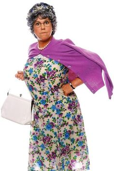 Vicki Lawrence as Thelma Harper AKA Mamma from the TV series .... MAMA'S FAMILY.