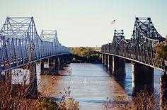 Vicksburg Bridge Mississippi