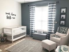 Scoot Convertible Crib with Toddler Bed Conversion Kit Baby Boy Room Decor, Baby Room Design, Baby Boy Rooms, Baby Boy Nurseries, Baby Boy Bedding, Boy Nursery Colors, Grey Nursery Boy, Nursery Room, Accent Wall Nursery