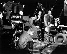 During Filming of Now Voyager.
