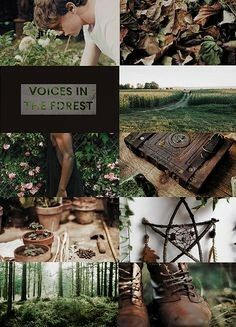 male forest witch aesthetic