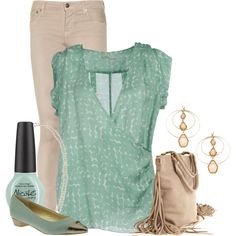 """Fringe Bag"" by ljjenness on Polyvore"