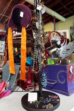 Color your world with one-of-a-kind finds. #GardenDeva #buylocal #handknitwithlove #Tulsa www.gardendeva.com