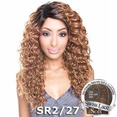 Isis Brown Sugar Human Hair Blend Soft Swiss Lace Wig - BS209