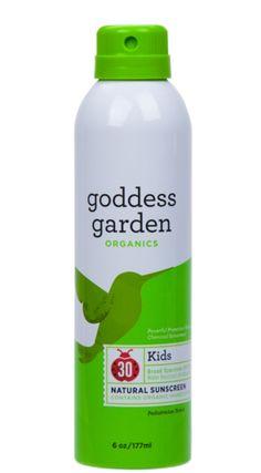 Kids Natural Sunscreen Continuous Spray