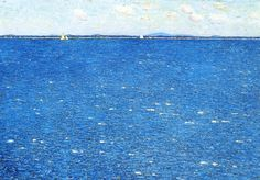 Childe Hassam - West Wind, Appledore 1904