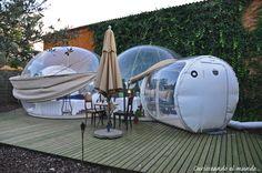 Curioseando el mundo....... a los 50: Dormir en una burbuja bajo las estrellas