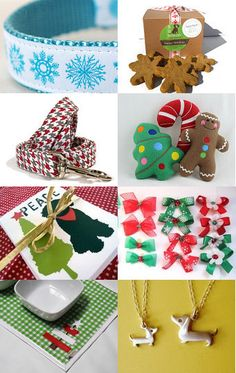 Holiday dog goodies by Diane