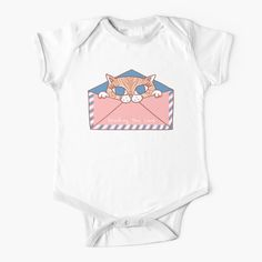 """You've Got Meowl"" Baby One-Piece by grumblebeeart 