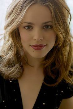 Rachel McAdams. Oh. My. Gosh. I love love love her. She's fantastic. Obsessed.