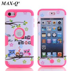 For Apple ipod touch 6 6th Generation Case High Quality Protective Shell case Silicone 3 in 1 shockproof Protective Cases Cover #Affiliate