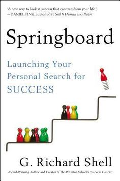 Springboard: Launching Your Personal Search for Success by G. Richard Shell. Find it at the library: http://alpha2.suffolk.lib.ny.us/record=b4637270~S29