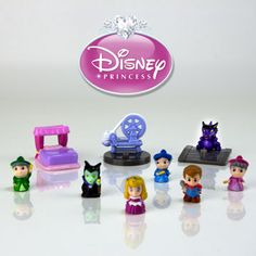 Sleeping Beauty Squinkies! They are out now; Keep and eye out for these :)