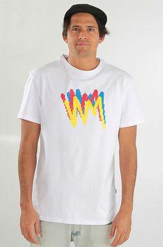 Wht Moment Pixel t-paita White 19,90 € www.dropinmarket.com