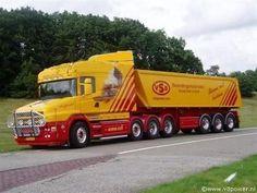 Dump Trucks, Cool Trucks, Big Trucks, Colani Truck, Trailers, Road Train, Volvo Trucks, Heavy Truck, Campervan