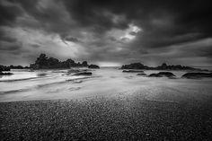 Eternal Tides VI #photography #indonesia #travel #blackandwhite #ocean #beach