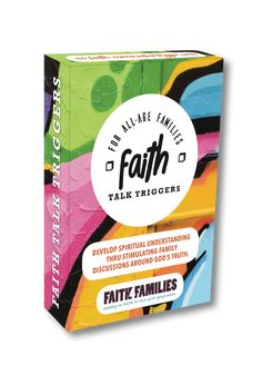 Want to have great God-centred conversations with your kids and teens? It's easy with these Faith Talk Trigger Cards! Pack includes 40 topics from Reputation to Forgiveness, Temptation to Peer Pressure. Great to use anytime: dinner table, at the beach, road trips. Keep the line of communication open and enjoy hearing your kids chew on these topics!