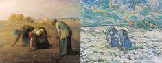 Releituras realizadas pelo pintor Vincent Van Gogh de obras de Jean-François Millet, obras de Van Gogh Van Gogh & Millet Vincent Van Gogh realizou uma série de releituras de obras de artistas que admirava, especialmente no tempo que ficou internado no asilo de Saint-Rémy (1889-1890). Era, para ele, uma importante …