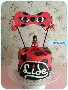 enredada en...: SWEET LAB: LADYBUG CAKE