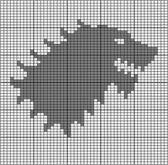 Ravelry: Game of Thrones: Stark Sigil pattern by Heather Zaccaro