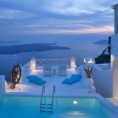 Luxury Travel - an amazing evening view. Luxury Travel Destinations, City Trips, HotSpots, Honeymoon Destinations, Luxury Boutique Hotels, Luxurious Spa and Wellness Resorts, Exclusive Lodges, Hip restaurants, Wellness Retreats, Cool Bars, Beach Clubs, Diving, Snorkeling, Surfing, Tropical Islands, Clear Blue Water, White Beaches and Stylish Resorts. http://whatiwouldbuy.com/TRAVEL+INSPIRATION+INTERIOR+DESIGN+FASHION+AND+FOOD