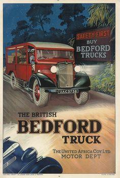 THE BRITISH BEDFORD TRUCK