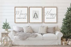 Modern Christmas decor,Christmas wall art,Minimalist Christmas decor, by PrintableLoveStory on Etsy