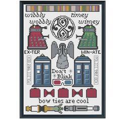 cross stitch doctor who - Google-søk