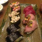 肉寿司 (ニクズシ) - 飯田橋/牛料理 [食べログ]