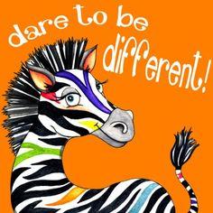 Dare to be Different - Jennifer Nilsson | Crie seu quadro com essa imagem https://www.onthewall.com.br/dare-to-be-different #quadro #decoracao #decoração