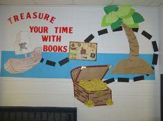 Pirate theme for scholastic book fair !