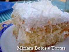 Bolo com Cobertura de Maria Mole | Culinária-Receitas - Mauro Rebelo