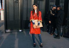 Ulyana Boyko in Gucci shoes