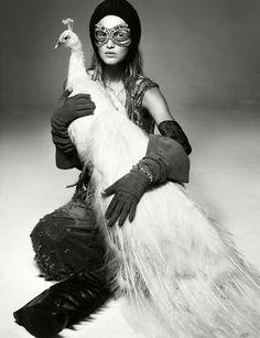 """Birds of a Feather"" | Model: Toni Garrn, Photographer: Greg Kadel, Numéro, November 2011"