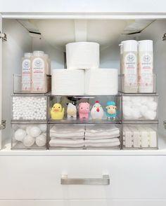 Life Organization, Bathroom Organization, Makeup Organization, Organizing, Cleaning Bath Toys, The Home Edit, Under Sink, Bathroom Kids, Bathrooms