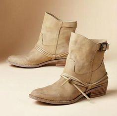 Sundance Wrap & Tie Boots