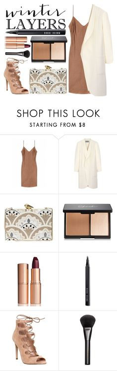 """Winter Layers: Slip Dress"" by rebecaponto ❤ liked on Polyvore featuring Mulberry, KOTUR, Charlotte Tilbury, Bobbi Brown Cosmetics, Office, Gucci, women's clothing, women's fashion, women and female"