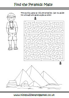 Ancient Egypt Mazes