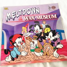 "Animaniacs ""Meltdown at the Wax Museum"" - Vintage Kids Golden  Book 1995 by RetroVintageHeart on Etsy"