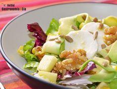 Recetas de ensalada con fruta para el Lunes sin carne