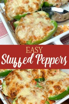 Sausage, cream cheese & cheddar cheese mix together to create a great keto filling for green bell peppers! Stuffed peppers are a family favorite recipe! Potluck Recipes, Pork Recipes, Fall Recipes, Easy Dinner Recipes, Snack Recipes, Vegetable Sides, Vegetable Recipes, Easy Family Meals, Easy Meals