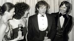 Williams picking up Best Actor in a TV Series at the Golden Globes for Mork & Mindy on January 27th, 1979.
