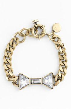 MARC BY MARC JACOBS : 'ID Jewels' Bow Bracelet