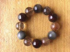 Precious Mix Gem Bracelet to fit a wrist of 6 & by Crystalcures4u