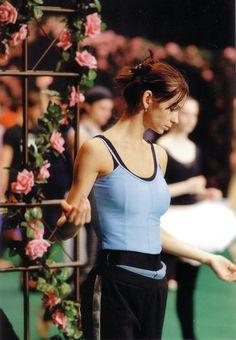 "Polina Semionova rehearsing for ""Giselle"""